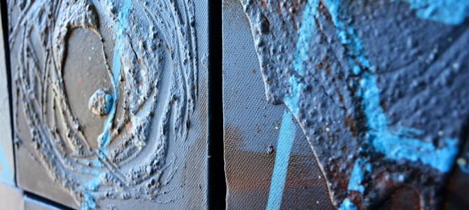 Blick ins Atelier…April 2015