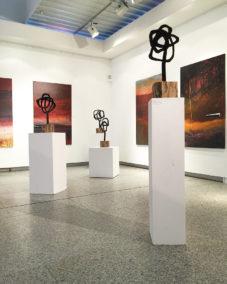 Maler Bayreuth bilderzyklen ausstellungshalle neues rathaus bayreuth monika